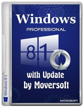 Windows 8.1 Pro (x64) with update by MoverSoft 04.2015 (2015) [Rus]
