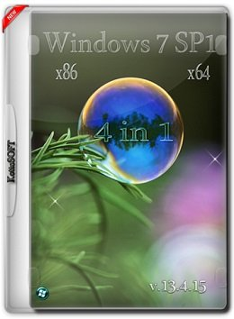 Windows 7 SP1 AIO 4in1 (x86-x64) KottoSOFT v.13.4.15 (2015) [Rus]