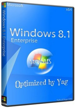 Windows 8.1 Enterprise (x64) Optimized by Yagd v.04.2015 (2015) [Rus]
