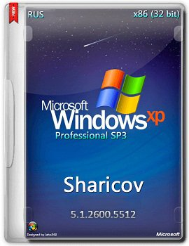 Windows XP Professional SP3 (x86) VL Russian by Sharicov (2015) [Rus]