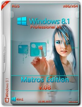 Windows 8.1 Professional VL Matros Edition v.08 (2015) [Rus]