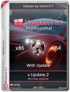 Windows 8.1 with Update Pro (x86/x64) [v.Update 2] by YelloSOFT (2015) [Rus]