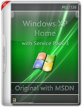 Windows XP Home with Sp3 - ������������ ������ MSDN (Multi26) [RUS]