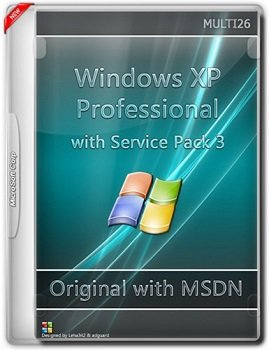 Windows XP Professional with Sp3 - Оригинальные образы MSDN (Multi26) [RUS]
