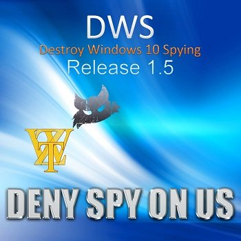 Destroy Windows 10 Spying 1.5 Build 314 (2015) [Multi/Rus]