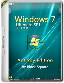 Windows 7 Ultimate SP1 (x64) AntiSpy Edition by Black Square (2015) [Rus]
