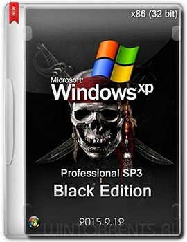 Windows XP Professional SP3 x86 - Black Edition 2015.9.12 (Eng/Rus)