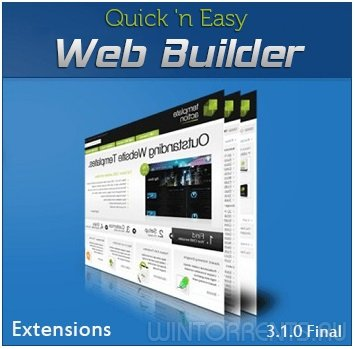 Quick 'n Easy Web Builder 3.1.0 Final + Extensions