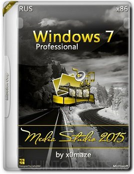 Windows 7 Professiona SP1 (x86) Media Studio by x0maze (2015) [Rus]