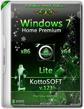 Windows 7 Home Premium (x86-x64) Lite KottoSOFT v.123 (2015) [Rus]