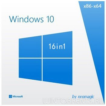 Windows 10 1511 16in1 by neomagic (3 DVD) (x86-x64) (2016) [Rus]