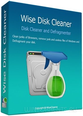 Wise Disk Cleaner 9.25.644 + Portable (2016) [Multi/Rus]