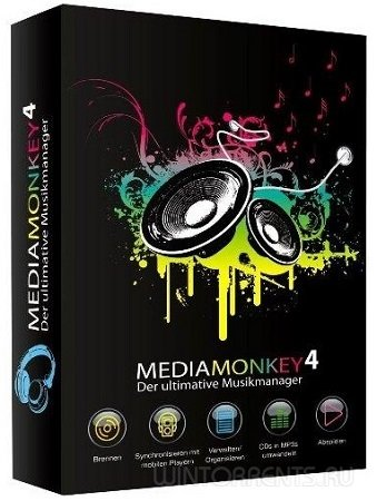 MediaMonkey Gold 4.1.13.1801 RePack (& portable) by KpoJIuK (2016) [Rus/Eng]