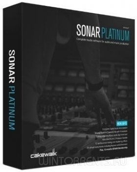 Cakewalk SONAR Platinum 22.9.0 Build 36 (x86-x64) (2016.09) [Rus/Eng]