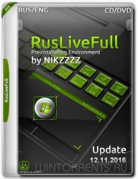 RusLiveFull by NIKZZZZ CD/DVD (12.11.2016) [Ru/En]