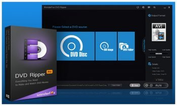 WonderFox DVD Ripper Pro 8.1 RePacK by Dinis124 (2016) [Rus]