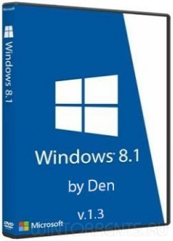 Windows 8.1 Pro (x64) Lite by Den v.1.3 (2017) [Rus]