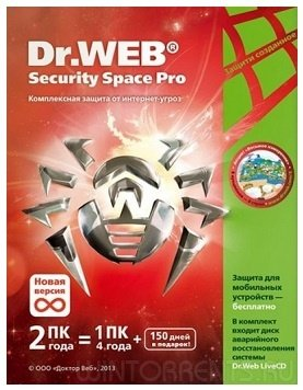 Dr.Web Security Space 11.0.5.6130 (2017) [Multi/Rus]