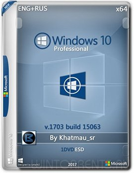 Windows 10 Pro (x64) 15063 by Khatmau_sr (2017) [En/Ru]