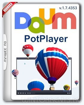 Daum PotPlayer 1.7.4353 Stable RePack (& Portable) by D!akov (2017) [Ru/En]