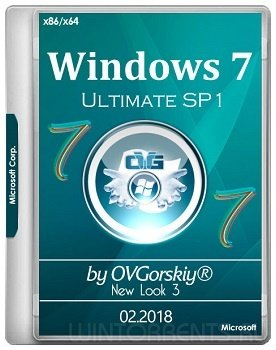Windows 7 Ultimate SP1 (x86-x64) NL3 by OVGorskiy 02.2018 (2018) [Rus]