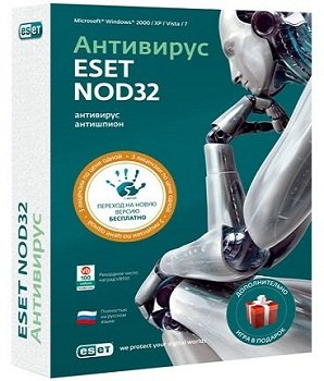 ESET NOD32 Antivirus 7.0.302.8 Final (2013) Русский