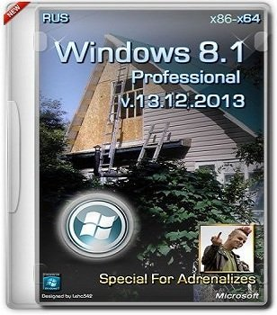 Windows 8.1 Pro VL 6.3.9600 х86-х64 RU PDF XII-XIII by Lopatkin (2013) Русский