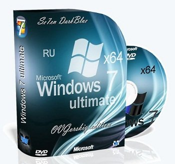 Windows 7 Ultimate (x64) Ru SP1 7DB by OVGorskiy® (02.2014) Русский