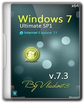 Windows 7 SP1 Ultimate x64 v7.3 by vladios13 (2014) Русский