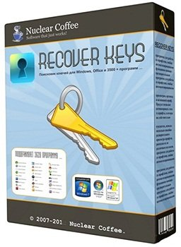 Nuclear Coffee Recover Keys Enterprise 8.0.3.109 Portable by DrillSTurneR (2014) Русский