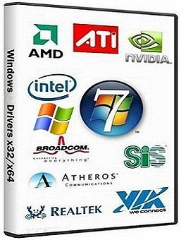 Windows XP & 7 Drivers x86-x64 Update (10.2014) Rus