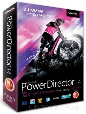 CyberLink PowerDirector Ultimate 14.0.2820.0 (2016) [Multi/Rus]