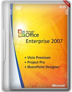 Microsoft Office 2007 Enterprise (+ Visio Premium, Project Pro, SharePoint Designer) v.16.6 RePack by SPecialiST