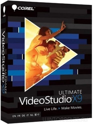 Corel VideoStudio Ultimate X9 19.3.0.19 + Content (2016) [ML/Rus]