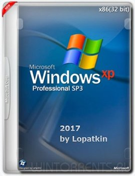 Windows XP Professional SP3 (x86) VL 2017 by Lopatkin (2017) [Rus]