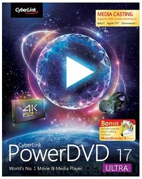 CyberLink PowerDVD Ultra 17.0.2101.62 RePack by qazwsxe (2017) [Eng/Rus]
