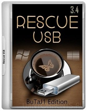 Rescue USB 16 Gb (x86-x64) (BuTaJ1 Edition) 3.4 (2017) [Rus]
