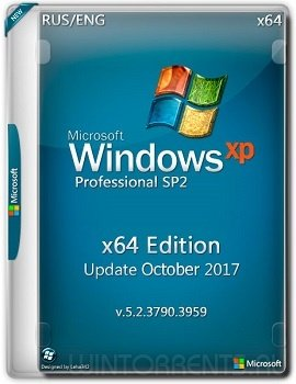 Windows XP Pro SP2 (x64) Edition 5.2.3790 Update Oct (2017) [Eng/Rus]