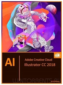 Adobe Illustrator CC 2018 (v22.0.1) RePack by m0nkrus (2017) [En/Ru]