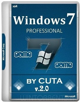 Windows 7 Pro SP1 (x64) Game OS 2.0 by CUTA (2017) [Rus]
