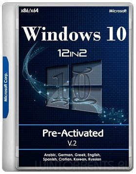 Windows 10 AIO 12in2 (x86-x64) RS3 1709.16299.214 Pre-Activated v.2 by TeamOS (2018) [Rus]