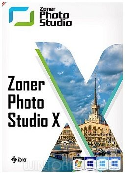 Zoner Photo Studio X 19.1802.2.51 RePack by KpoJIuK (2018) [Rus]