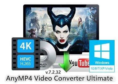 AnyMP4 Video Converter Ultimate 7.2.32 RePack by вовава