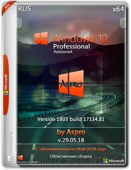 Windows 10 Pro (x64) RS4 by Aspro v.29.05.18