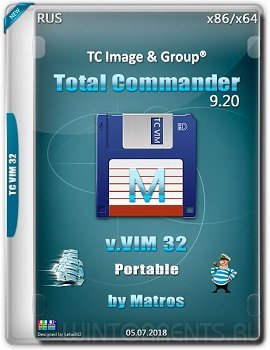 Total Commander 9.20 VIM 32 Portable by Matros