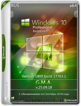 Windows 10 Pro (x64) VL RS5 by G.M.A. v.25.09.18
