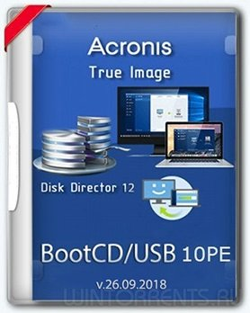 Acronis BootCD 10PE by naifle (v.26.09.2018)