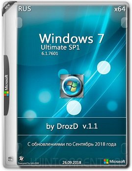 Windows 7 Ultimate SP1 (x64) by DrozD v.1.1