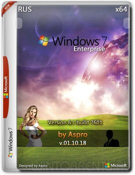 Windows 7 Enterprise SP1 (x64) by Aspro v.01.10.18