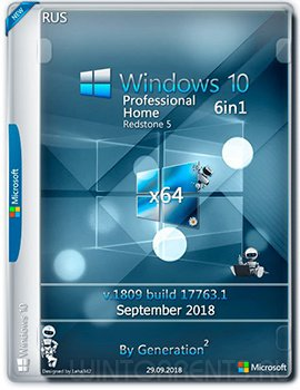 Windows 10 6in1 (x64) RS5 v.1809 OEM Sep 2018 by Generation2